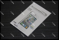 Wholesale Clear LCD Screen Guard Protector Cover Film for iPod Nano gen th with retail package