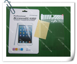 7.9 Inch Crystal Tablet Front Screen Protector Guard Film For Ipad Mini With Retail Packing