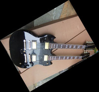 Solid Body 12 Strings Mahogany New Arrival 2012 black 1275 Double neck electric guitar China Guitar verion 2 110502-05