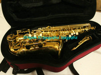 Wholesale Free Case Newest Advanced Golden Alto Saxophone High Quality Woodwind HOT