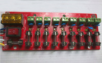 Wholesale 9 way output switching power supply board distribution board current shunt plate power patch boar