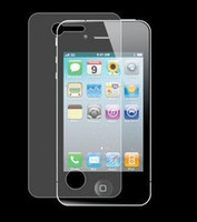 Wholesale Crystal Clear Screen Protector Film Guard for iPhone G GS G GS G with retail package