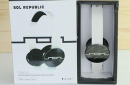 Wholesale Hot SOL Republic Tracks Headphone V8 On Ear Remote With Mic Interchangeable