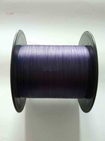 Wholesale 1000M purple braided fishing line dyneema high quality