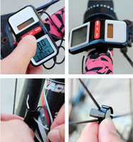 Warterproof battery bike accessories - Cycling accessories bicycle bike computer speedometer solar battery ABS g Stopwatches mm