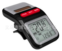 Wholesale Cycling accessories digital stopwatch bicycle computer odometer speedometer solar battery ABS BM2001