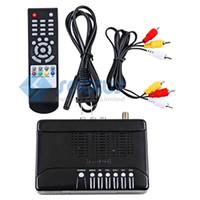 Receivers 数字卫星机顶盒  Ultra Mini DVB-S MPEG-2 Digital Satellite Receiver Box TV Set