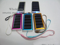 Wholesale Lowest mAh Solar Charger USB Power Panel Battery Flashlight for MP3 MP4 PDA Phone Camera