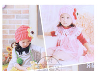 Wholesale Chrismas new style children s cap five petals fashion walm caps design for kids