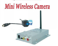 Wholesale China Post Mini Wireless CCTV Security Kit G Color CMOS CCTV Camera Receiver