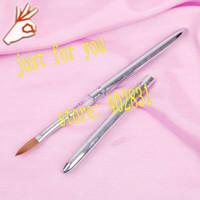 Wholesale Detachable Pure Kolinsky Sable Professional Nail Art Acrylic Brush