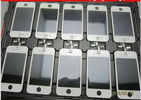 Wholesale 50 OFF SALE For iphone4 s GSM CDMA full complete LCD with digitizer panel screen glass display