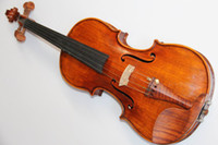 Wholesale Professional Flame top Handmade common v6 Violin Maple Back