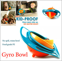 Wholesale Gyro Bowl Children s No Spill Toddlers Degree Babykids Universal Gyro Bowl The Kid Proof Spill