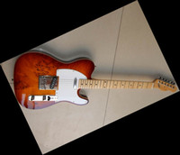 Wholesale New Arrival TELE Electric guitar Birdeyes Maple Brown Wooden Limited Edition