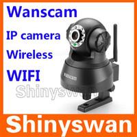 Wholesale Wireless IP Camera Webcam Way Audio Pan Tilt Motion Detection Security Spy Alarm Night Vision Bla