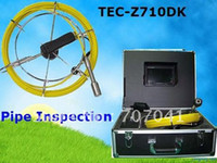Wholesale Professional sewer pipe inspection camera with DVR amp Keyboard function TEC Z710DK