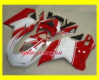 For Ducati abs bodykit - Fairing kit for DUCATI Ducati Injection mold Red white Motorcycle Fairings bodykit