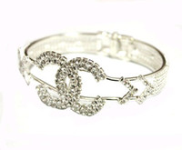 Wholesale New fashion jewelry cuff bangle bracelet silver amp black YY060507