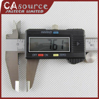 Wholesale 5pcs quot mm Digital Vernier Caliper Micrometer Guage Widescreen Electronic Accurately Measuri