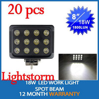 Wholesale 20pcs super bright waterproof IP67 square W LED lighting house street garden road