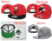 Wholesale truckfit Trukstop snapback hats and caps hat snapbacks cap mixed beanie black color