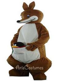 kangaroo mascot costume Custom Animal Mascots for Advertising Team Mascot Character Design Deguisement Mascotte Quality Mascot Maker