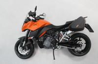 Wholesale Motorcycle Model KTM motorbike models Vehicle Models Diecast Cars models White Orange