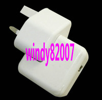 For Apple iPhone Direct Chargers Yes Top charging speed 12W USB power AC Wall Charger for Apple iPad 4 mini iPhone 5 ipod 5.2V 2.4A (UK)