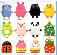 Wholesale Children bag school cartoon animal backpack Baby Toddler kid s leather Schoolbag Shoulder Bag