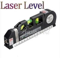 Wholesale New Laser Level Horizon Vertical Measure Tape FT Aligner Multipurpose Bubbles Ruler