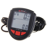 Wholesale 1 quot LCD Electronic Bicycle Computer Speedometer