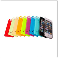 Wholesale Smooth Case With ID Credit Card Holder Slot For iphone G th Hard Plastic Back Cover