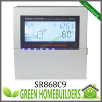 Wholesale New SR868C9 solar water heater controller for solar and heating system