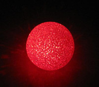 Wholesale LED night lights led lamp colour change automaticly flash magic ball shape X mas gift