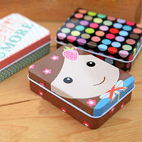 Wholesale Fashion Mini Jewelry Box Metal Storage Case