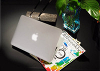 Wholesale Rubberized Frosted Matte Crystal Shell Case Cover for Macbook Air quot Air quot New White quot Free DHL