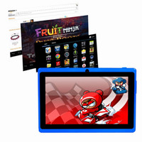 Wholesale Free Ship quot Q8 Ultrathin Android Capacitive Tablet PC Allwinner A13 GB GHZ WIFI G