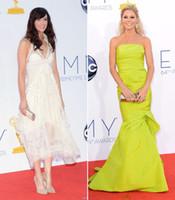 Wholesale 2012 Emmy Awards New Arrivals Julie Bowen Designer Mermaid Celebrity Inspired Formal Dresses
