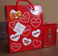 candy packaging supplies - Wedding Candy Bags Love Candy Gifts Holder boxes Red Package Bag wedding candy supplies