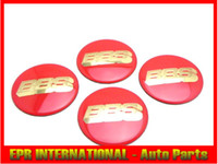 Wholesale 4PCS SET BBS Red Gold Wheel Cap Sticker mm Inches