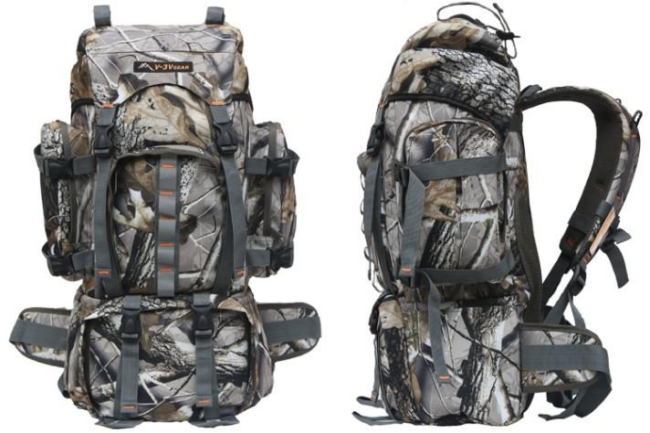 80l Professional Realtree Camo Hunting Backpack,Outdoor Camouflage ...