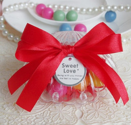Wholesale Candy Boxes Clear Sea Shell Wedding Favors gift boxes Multi color creative Chocolate Box
