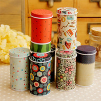 Wholesale Lovely Sweet Mini Jewelry Cylinder Box Metal Storage Case