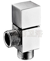 Wholesale Full copper triangle valve Are four square triangle valve Toilet triangle valve Triangle valve