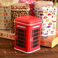 Wholesale Sweet Mini Jewelry Call Box Metal Storage Case