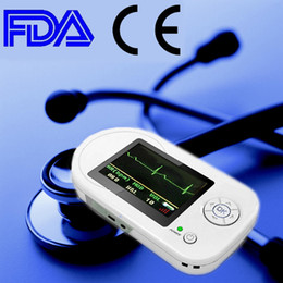 Wholesale CONTEC CMS VESD Visual Digital Stethoscope ECG SPO2 PR Electronic Diagnostic USB Pulse Heart Rate HR