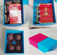 Favor Bags Pink Paper Wedding favor candy box Bowkont Gift Boxes baby shower chocolate Boxes