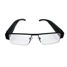 Solid Frame Body Worn Black 720P HD Mini DV Video Glasses Camera DVR Recorder, HD Eyewear With Camera Support Max 32GB