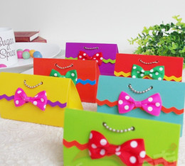 Wholesale 6 colors Rainbow Candy Box Wedding Candy handbag Favor Boxes Party Gifts Holders